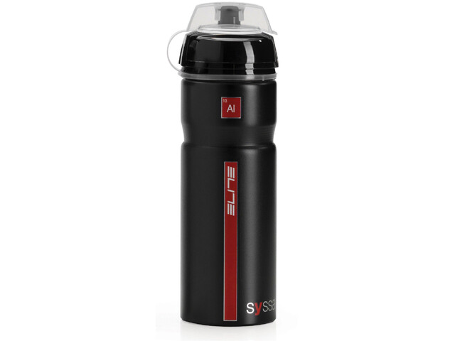 Elite Syssa Bidon 750ml, glossy black